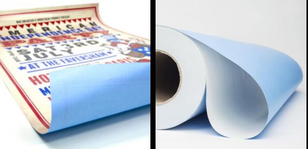 Бумага BlueBack пример печати