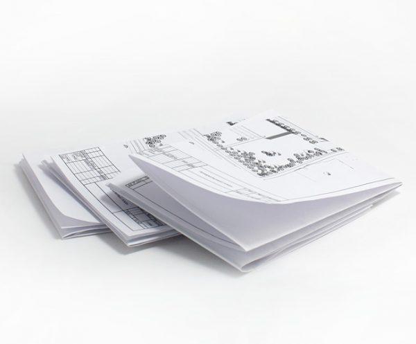 Бумага 80 гр. пример печати
